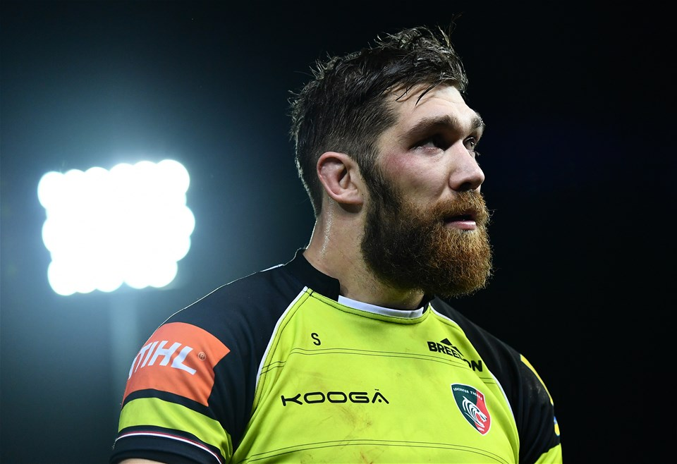 EXETER, ENGLAND - DECEMBER 24:  Graham Kitchener of Leicester Tigers leaves the field following his side's defeat during the Aviva Premiership match between Exeter Chiefs and Leicester Tigers at Sandy Park on December 24, 2016 in Exeter, England. (Photo by Dan Mullan/Getty Images)