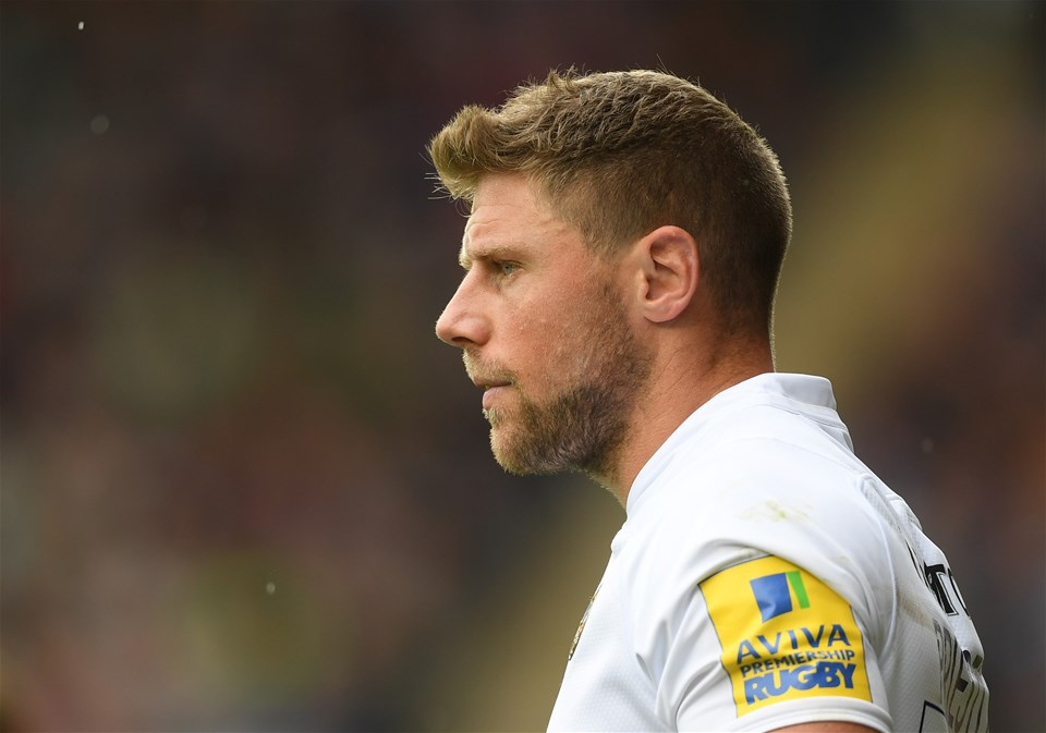 LEICESTER, ENGLAND - SEPTEMBER 03:  Rhys Priestland of Bath Rugby looks on during the Aviva Premiership match between Leicester Tigers and Bath Rugby at Welford Road on September 3, 2017 in Leicester, England.  (Photo by Laurence Griffiths/Getty Images)