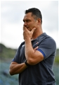 BATH, ENGLAND - SEPTEMBER 09:  Tabai Matson, Head Coach of Bath looks on prior to the Aviva Premiership match between Bath Rugby and Saracens at Recreation Ground on September 9, 2017 in Bath, England. (Photo by Dan Mullan/Getty Images)