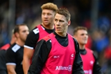 BATH, ENGLAND - SEPTEMBER 09:  Liam Williams of Saracens looks on prior to the Aviva Premiership match between Bath Rugby and Saracens at Recreation Ground on September 9, 2017 in Bath, England. (Photo by Dan Mullan/Getty Images)