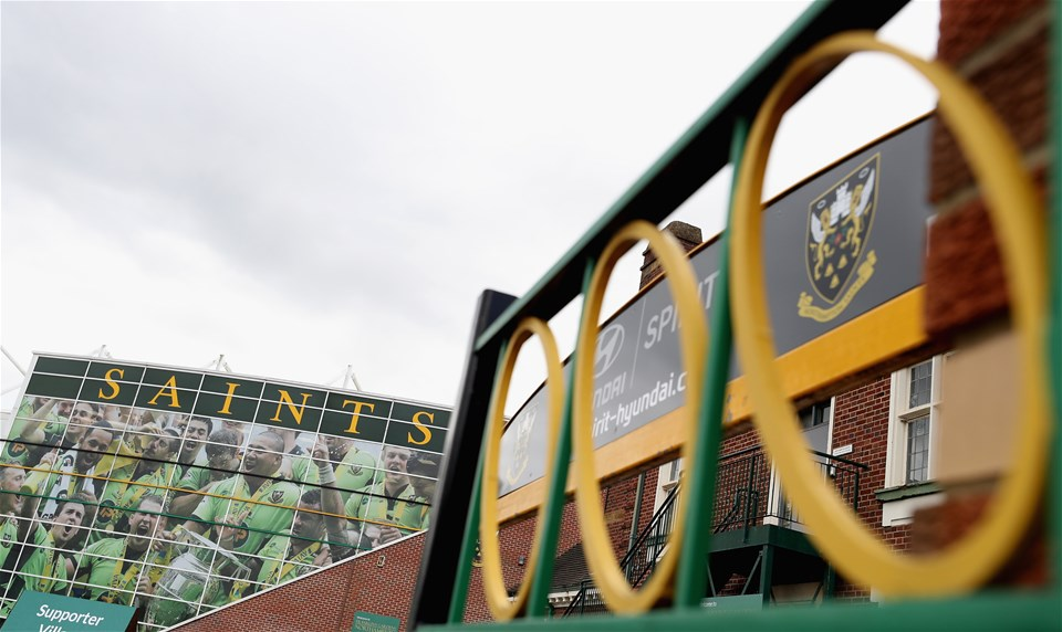 NORTHAMPTON, ENGLAND - SEPTEMBER 09:  An exterior view of Franklin's Gardens prior to the Aviva Premiership match between Northampton Saints and Leicester Tigers at Franklin's Gardens on September 9, 2017 in Northampton, England.  (Photo by David Rogers/Getty Images)
