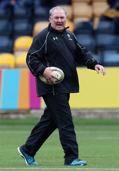 WORCESTER, ENGLAND - SEPTEMBER 10:  Gary Gold, the Worcester Warriors director of rugby looks on during the Aviva Premiership match between Worcester Warriors and Wasps at Sixways Stadium on September 10, 2017 in Worcester, England.  (Photo by David Rogers/Getty Images)