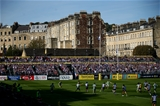BATH, ENGLAND - SEPTEMBER 23:  A general view of play during the Aviva Premiership match between Bath Rugby and Newcastle Falcons at Recreation Ground on September 23, 2017 in Bath, England.  (Photo by Jordan Mansfield/Getty Images)