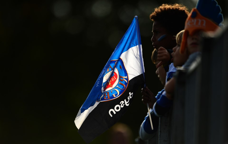 BATH, ENGLAND - SEPTEMBER 23: Detailed view of a bath flag during the Aviva Premiership match between Bath Rugby and Newcastle Falcons at the Recreation Ground on September 23, 2017 in Bath, England. (Photo by Harry Trump/Getty Images)